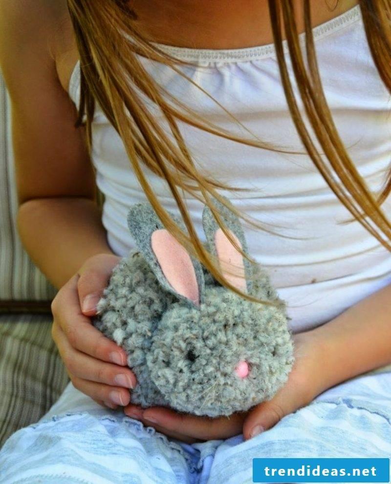 Pompom bunny original look
