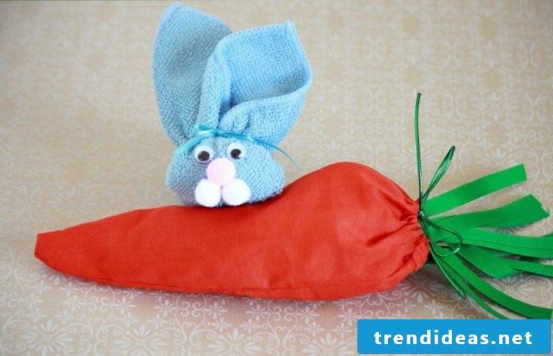 Easter bunnies make creative DIY ideas themselves