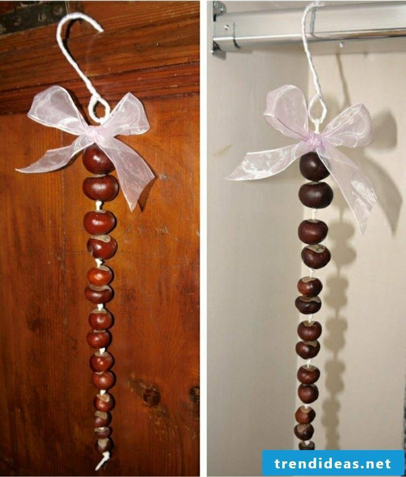 Crafts with acorns and chestnuts ideas and inspirations