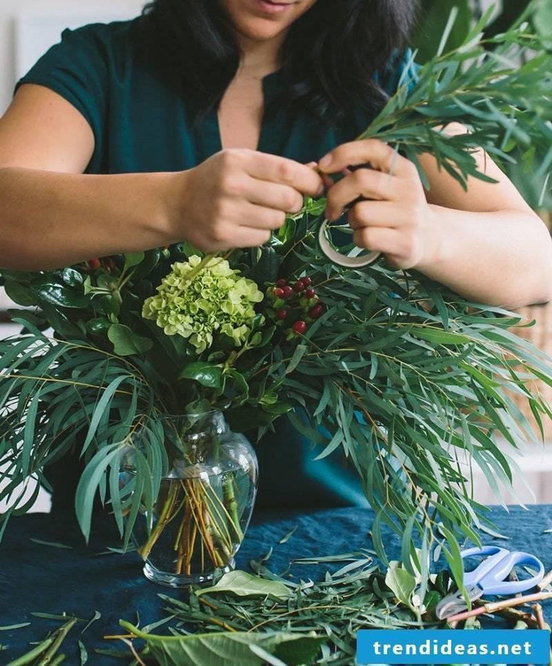 floral arrangements-diy