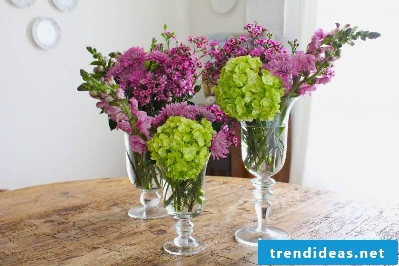 floral arrangements-color design
