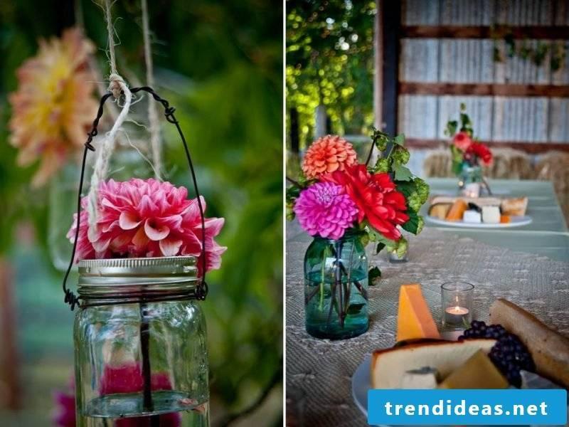 floral arrangements-glass