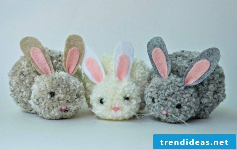 DIY funny easter bunny