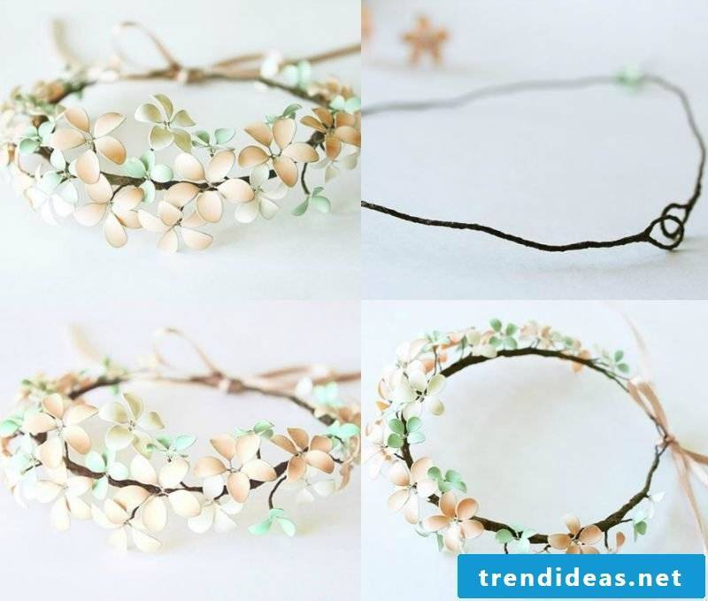 Jewelry itself make bracelet with flowers