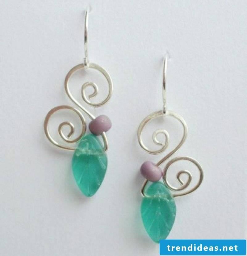 Craft ideas jewelry earrings