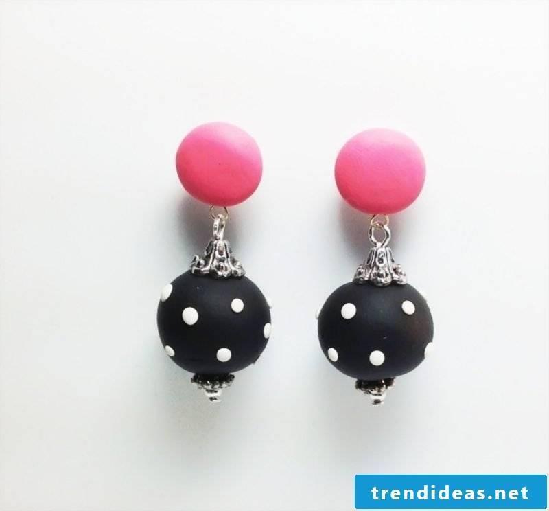 Jewelry Craft Ideas Polymer Clay Earrings
