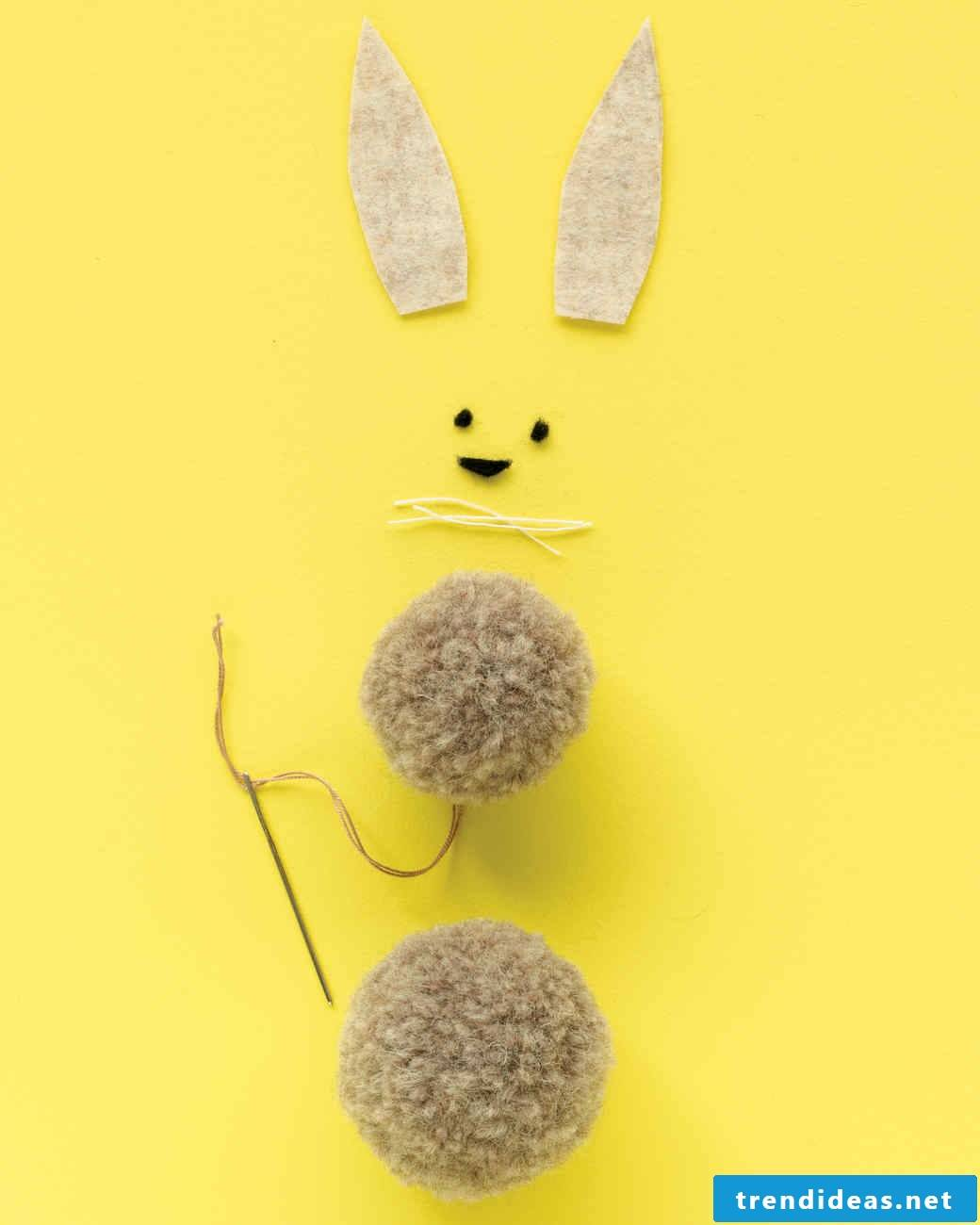 Be creative and make a bunny