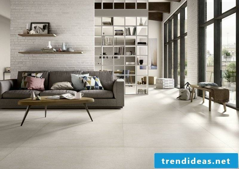 The XLstone Marazzi living room
