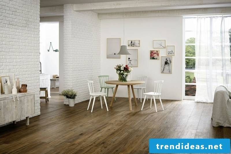 living room floor wood look