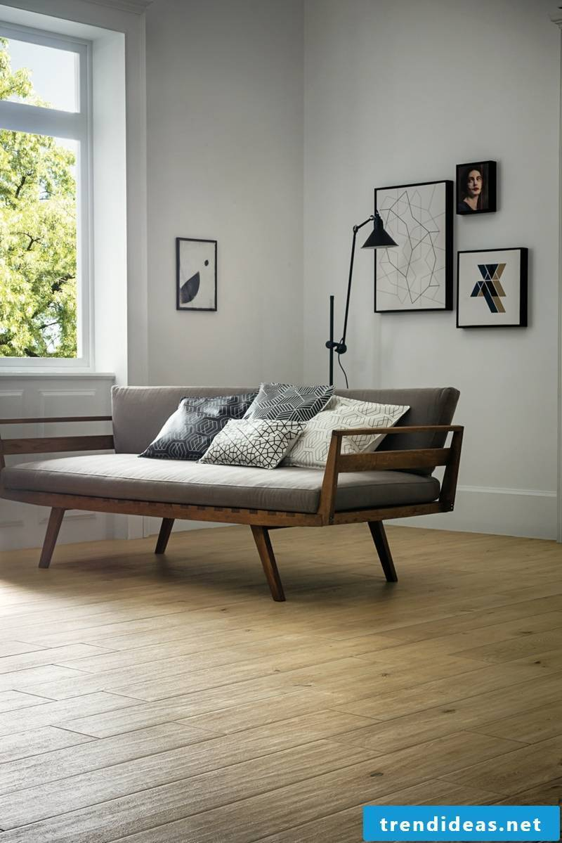 Living room wood collection