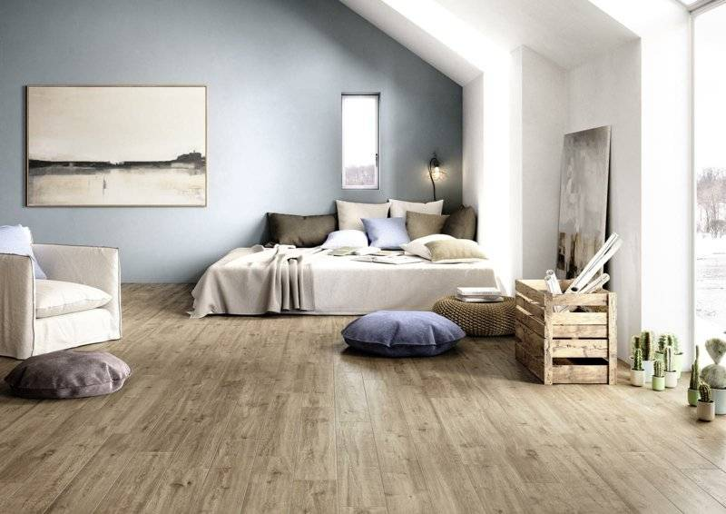 wood look bedroom marazzi