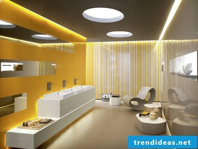 Marazzi tiles yellow