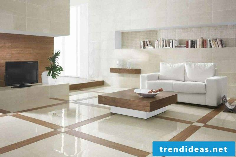 Marble floor classic