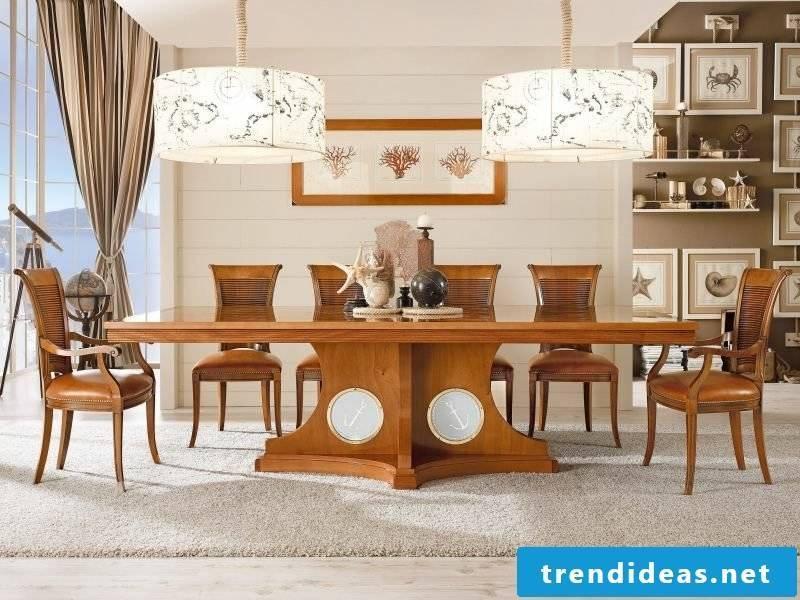 maritime furniture dining room