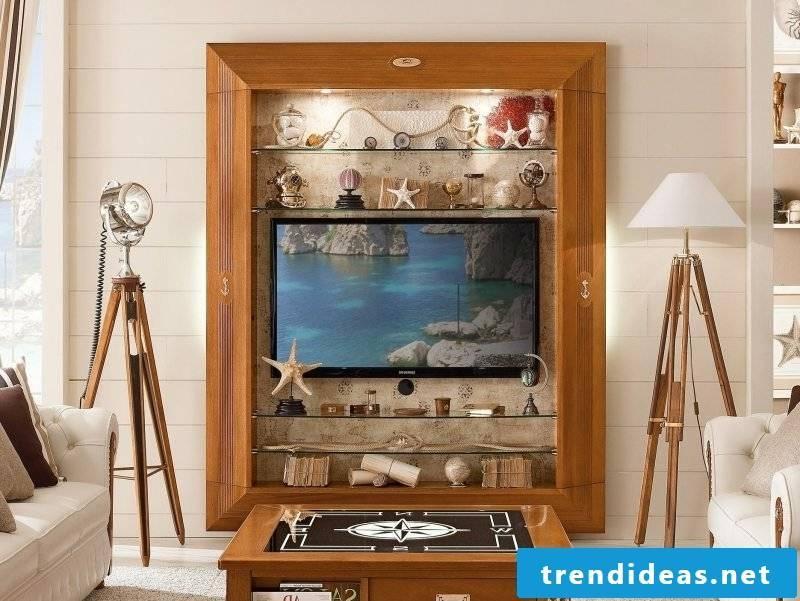 Wall unit maritime furniture