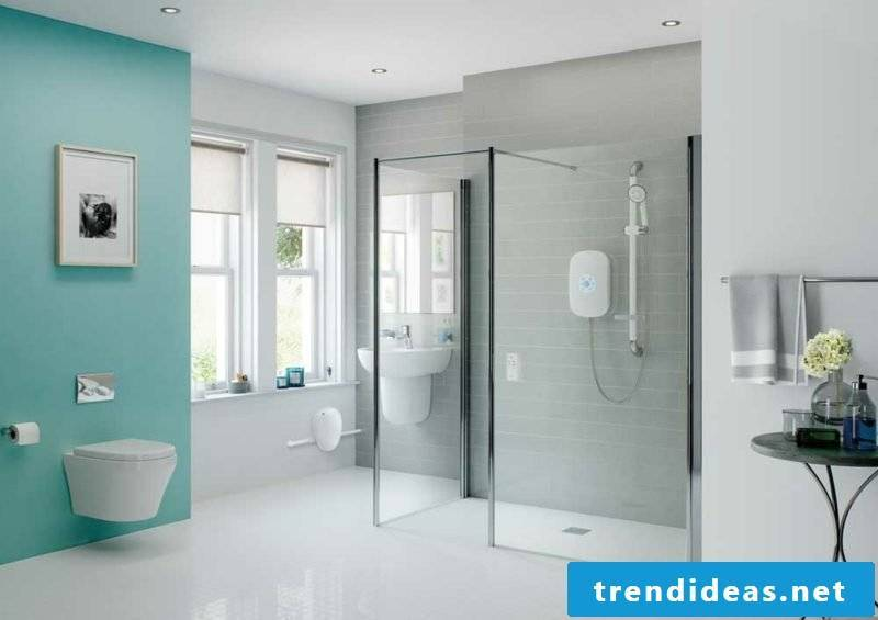 modern bathroom design pastel shades