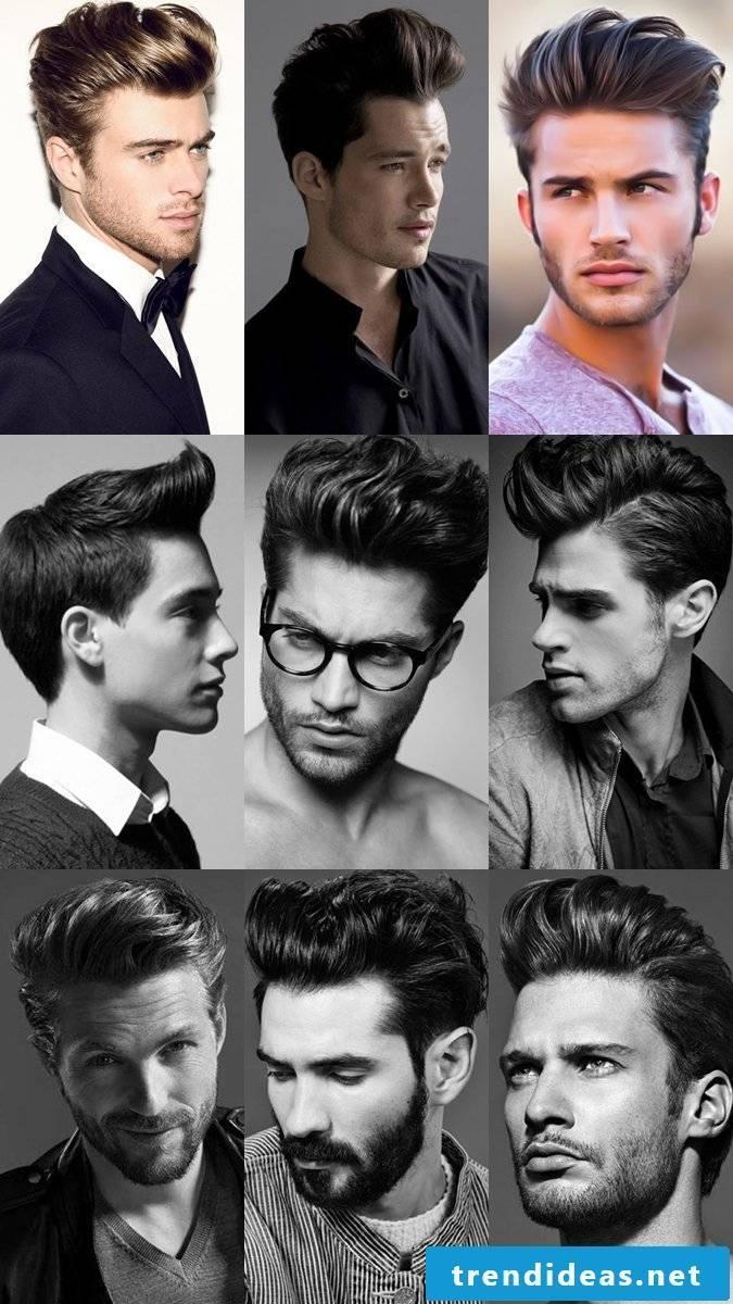 men hairstyles pompadour modern men's hairstyles men's hairstyles trend hairstyles men