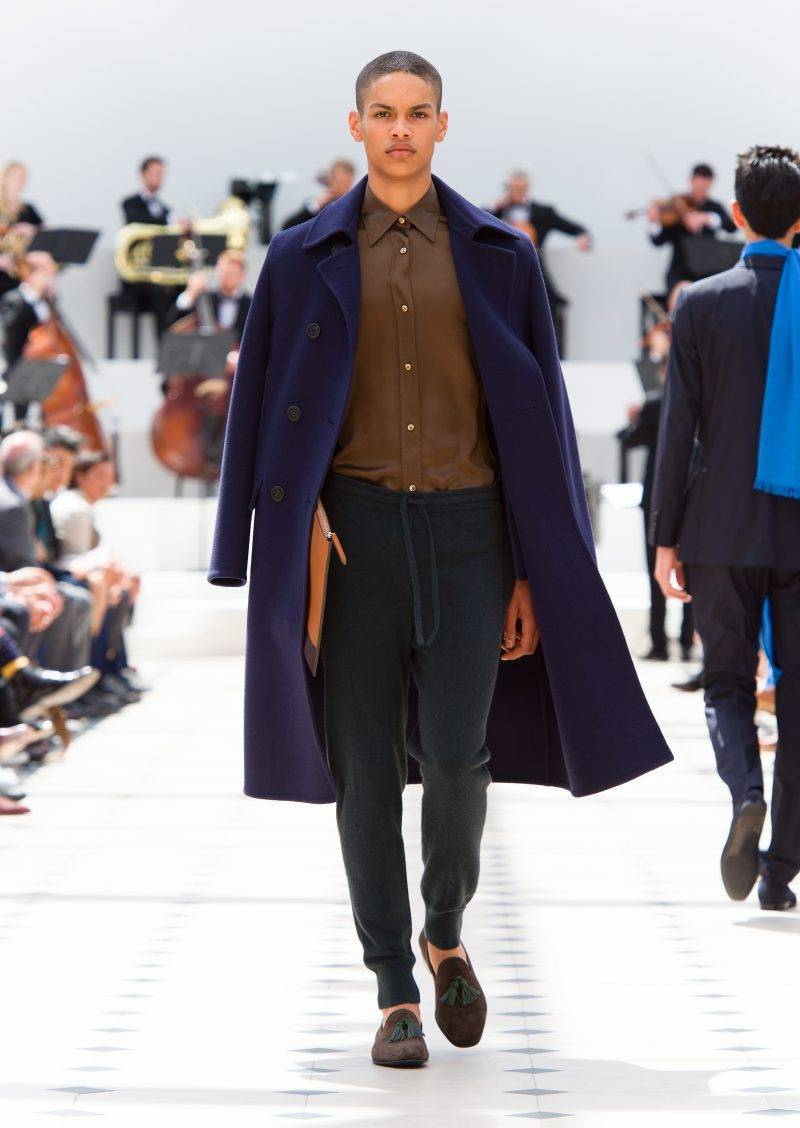 Men hairstyle 2015 Burberry