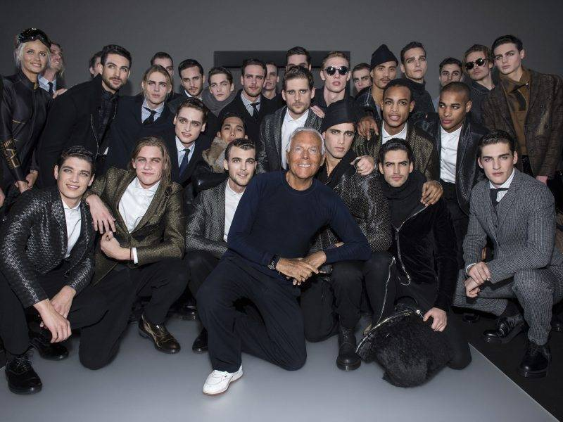 Men's hairstyle inspired by models in 2015
