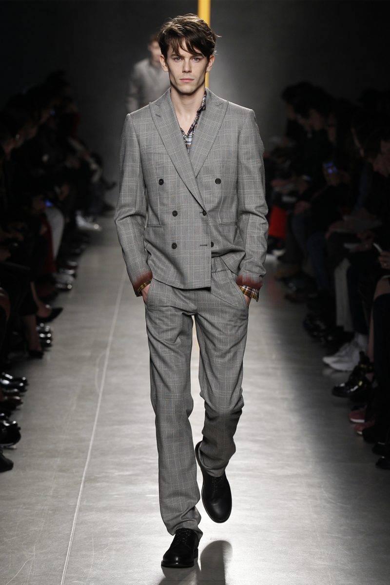 Men's hairstyle 2015 Bottega Veneta