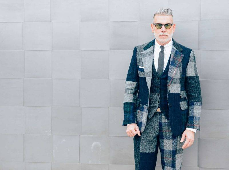 Men's hairstyle 2015 inspired by Nick Wooster