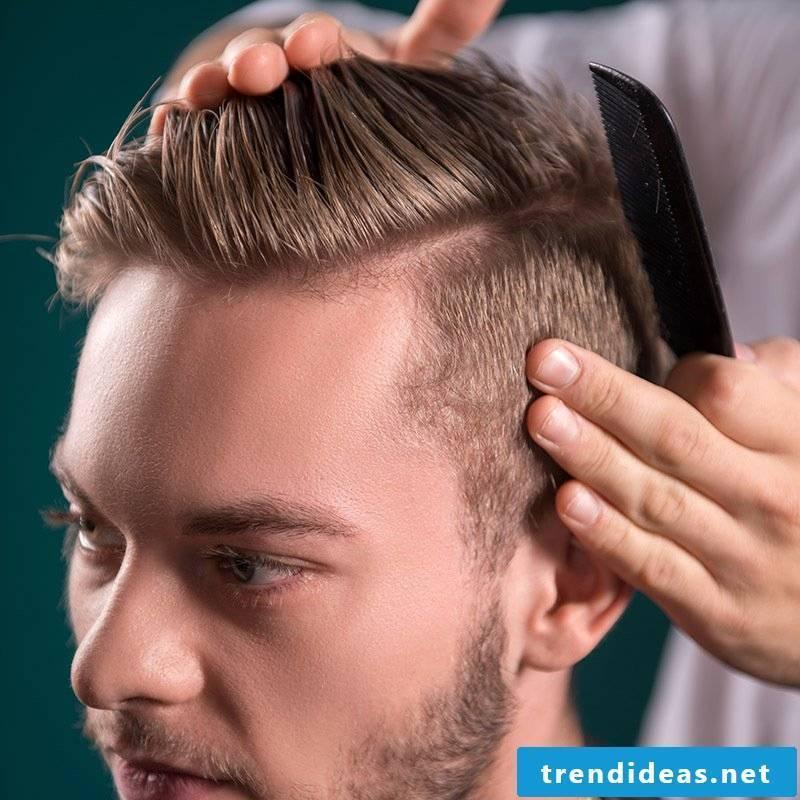 Men's hairstyles always stay trendy