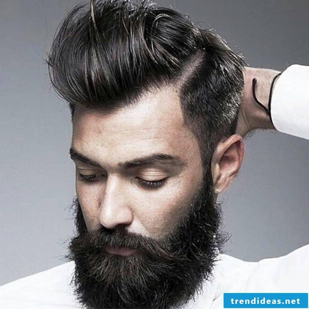 Sidecut men - Rocky with full beard