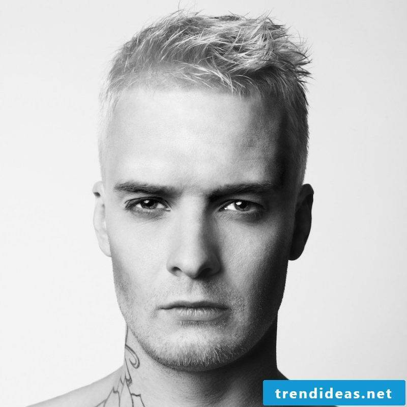 Men's short hairstyles 2015: Bring variety with hair lacquer