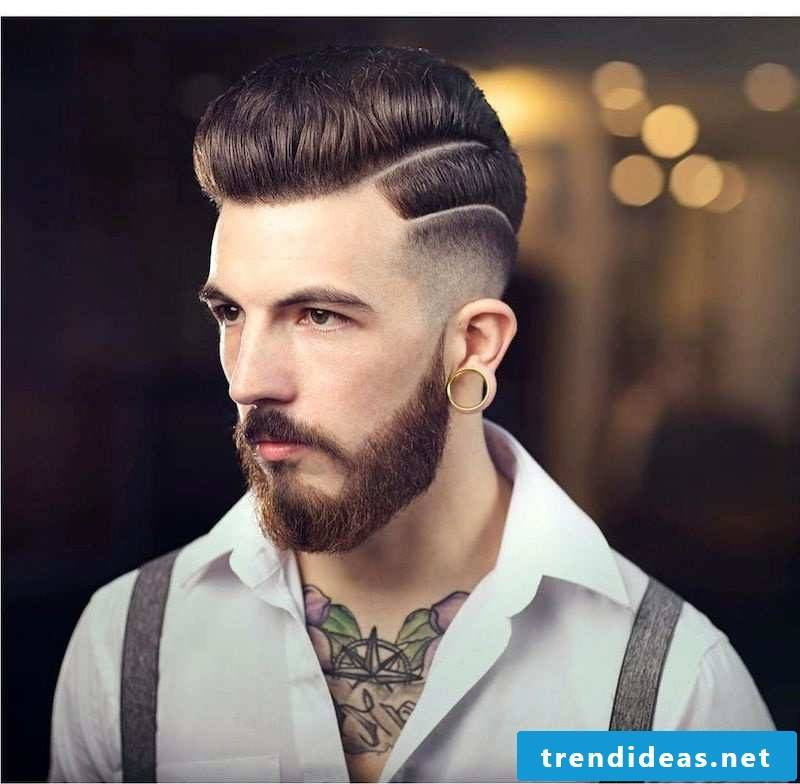 Men's Short Hairstyles 2015: Stripes are trendy
