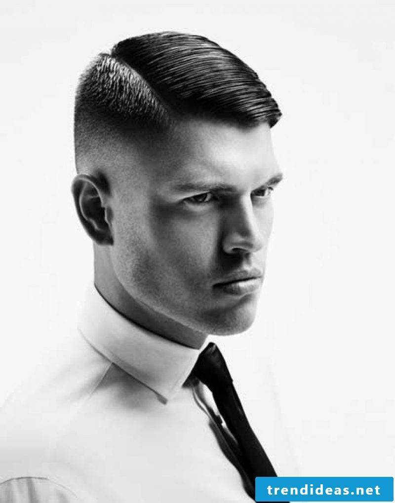 Men's Short Hairstyles 2015 Wet Look