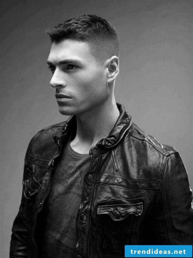 Men's short hairstyles 2015: Structure the look