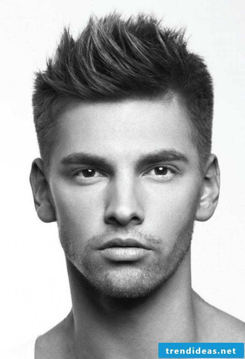 Men's short hairstyles 2015 for thick hair