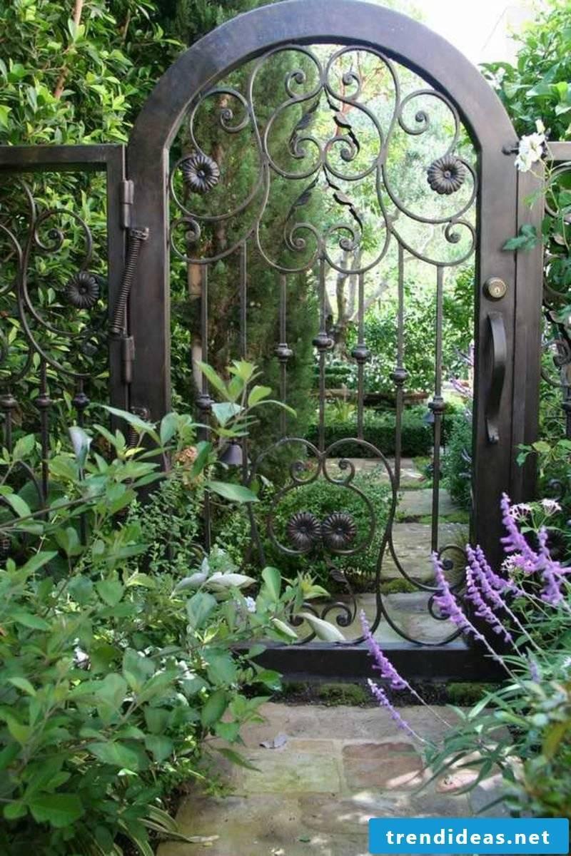 garden gate metal wrought