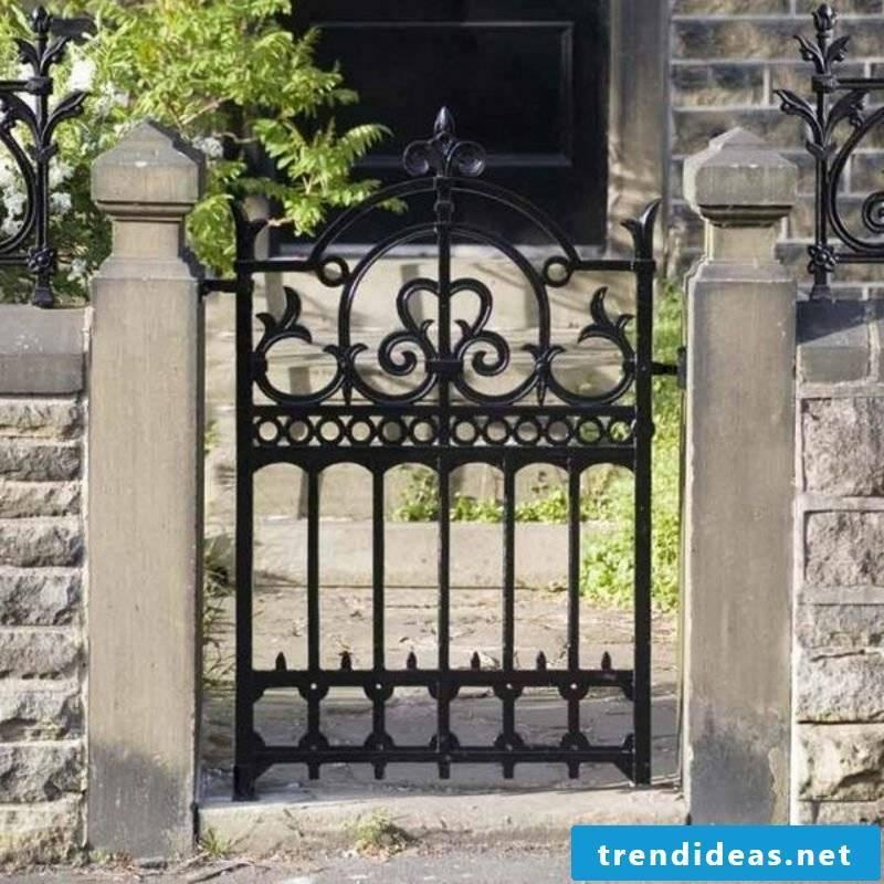 Metal garden gates metal garden gates wrought iron ideas