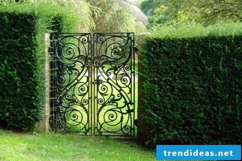 Metal garden gates metal garden gates wrought
