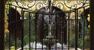Metal Garden Gates - 30 Ideas
