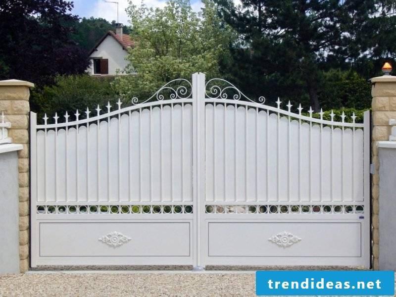 Metal garden gates metalltoranlange