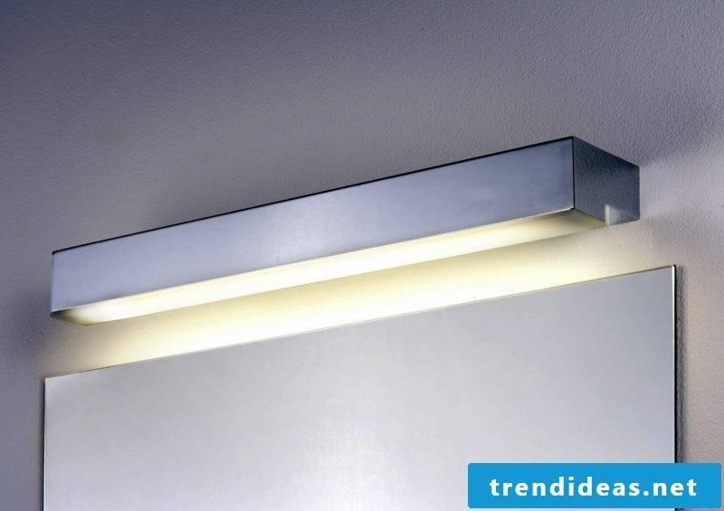 Halogen lamp mirror lighting