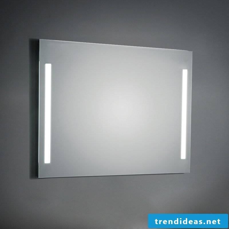 integrated mirror lighting