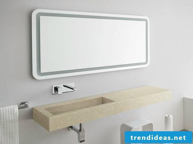Mirror lighting bath