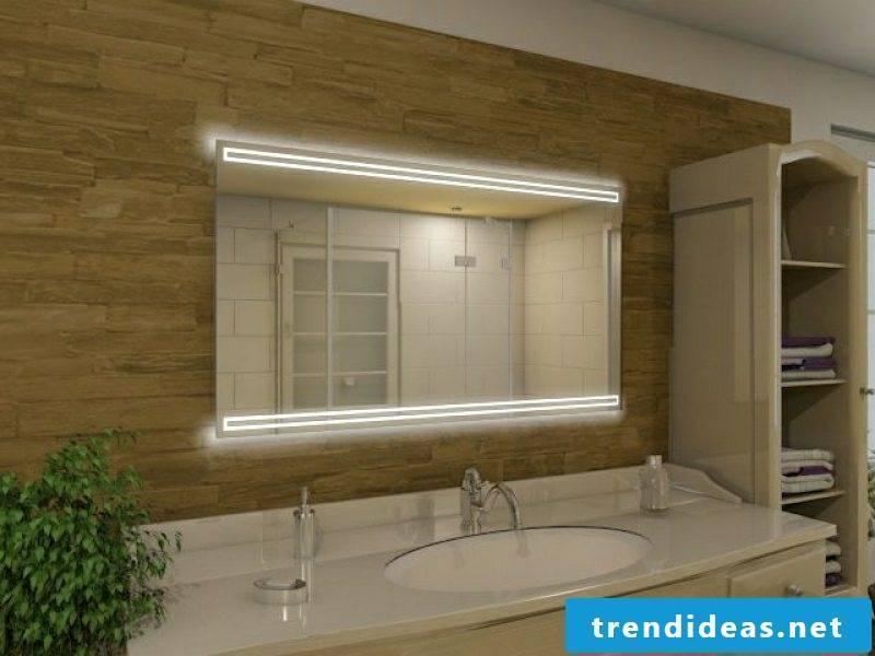 illuminated mirror bath