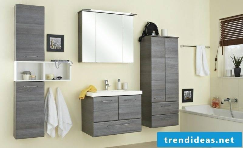 Mirror crank with lighting bathroom