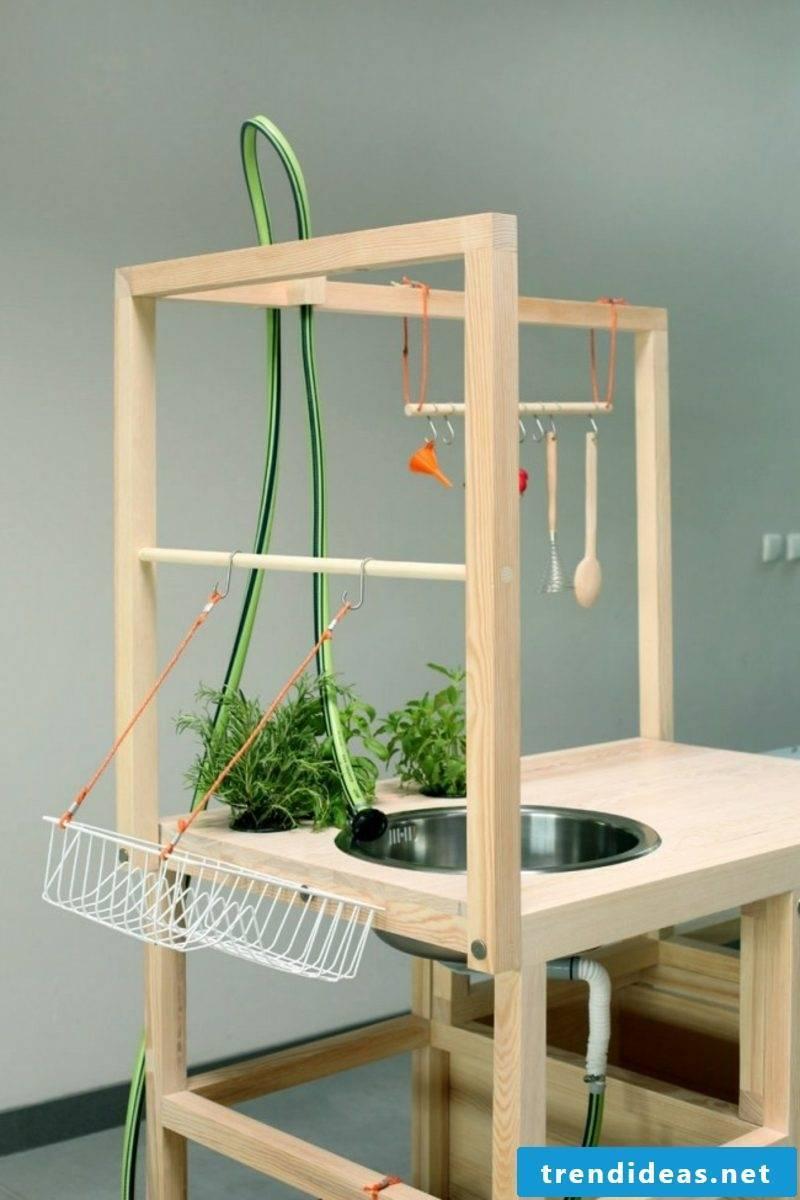 mobile kitchen on wheels freestanding modern look