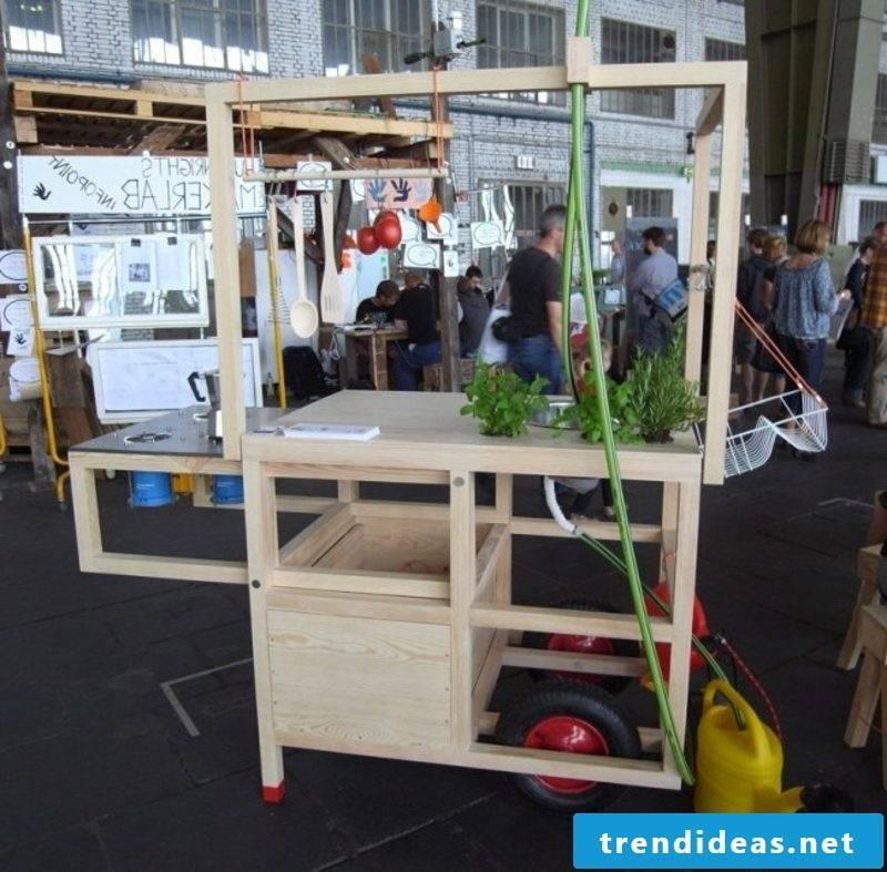 mobile kitchen on wheels original design