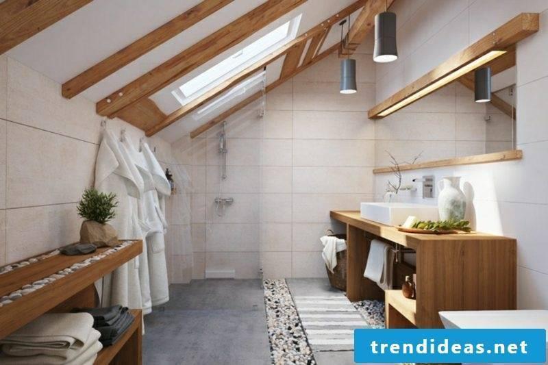 Tile bathroom beige modern look