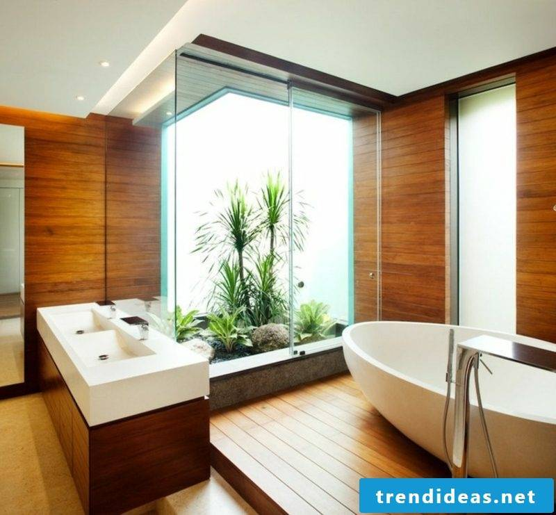 modern bathroom design wood