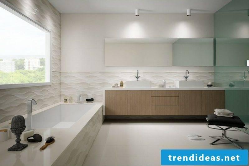 Bathroom images 3D wall tiles