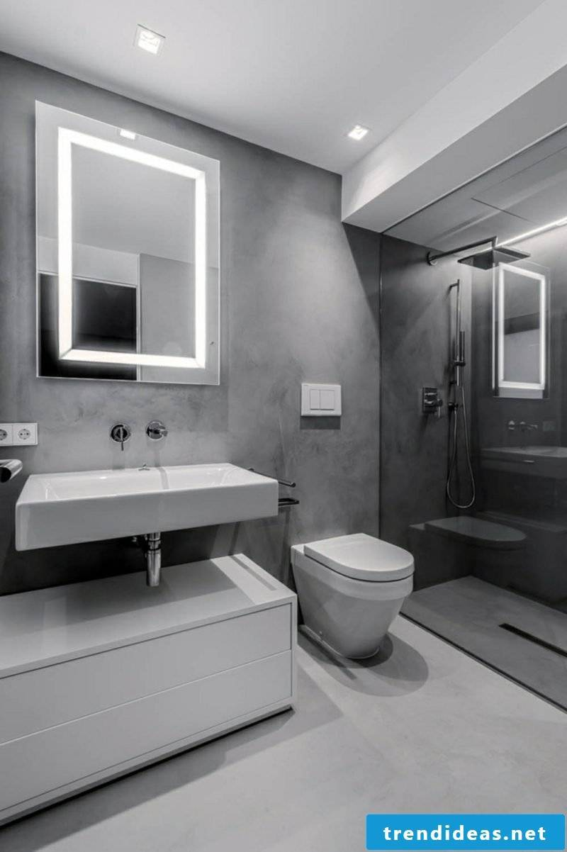 Bathroom ideas mirror lighting