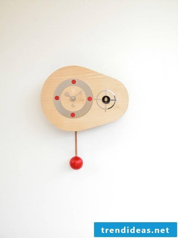A stylish cuckoo clock
