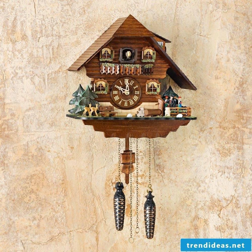 Modern cuckoo clocks!